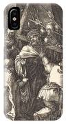 Christ Carrying The Cross IPhone Case