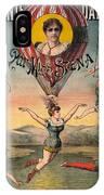 Circus Poster, C1890 IPhone Case