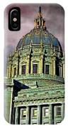City Hall San Francisco II IPhone Case
