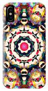 Colorful Concentric Abstract IPhone Case