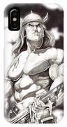 Conan The Barbarian IPhone Case