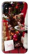 Cookies And Milk For Santa IPhone Case