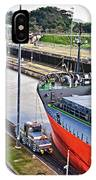 Crossing Panama Canal IPhone Case