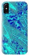 Croton Series - Blue IPhone Case