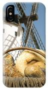 Different Breads And Windmill In The Background IPhone X Case