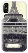 Eiffel Tower By The Seine IPhone Case