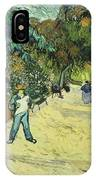 Entrance To The Public Gardens In Arle IPhone Case