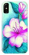 Fantasy Flowers IPhone Case