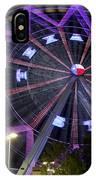 Ferris Wheel At The Texas State Fair In Dallas Tx IPhone Case