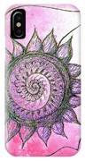 Flora Blushing IPhone Case