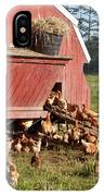 Free Range Chickens IPhone Case