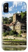 Fribourg Old Town In Switzerland IPhone Case