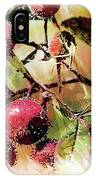 Fruit Of The Wild Rose IPhone Case