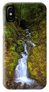 Streaming In The Olympic Rainforest IPhone Case