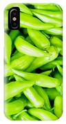 Green Jalapeno Peppers IPhone Case