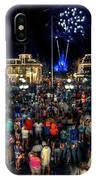 Halloween At Magic Kingdom IPhone Case