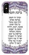 Hebrew Business Blessing IPhone Case