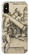 Hercules Carrying The Columns Of Gaza IPhone Case
