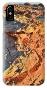 High Above Wash 3 In Valley Of Fire IPhone Case