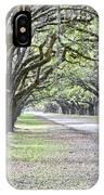 Historic Wormsloe Plantation IPhone Case
