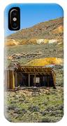 Homestead, Bodie Ghost Town IPhone Case
