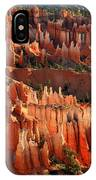 Hoodoos Of Sunset Point In Bryce Canyon IPhone Case