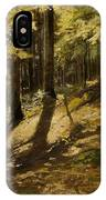 In A Forest IPhone Case