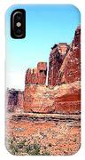 In Monument Valley, Arizona IPhone Case
