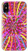 Infinity Star Flower An Abstract Fineart Expression By Navinjoshi At Fineartamerica.com Colorful Spe IPhone Case