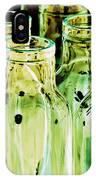 Iridescent Bottle Parade IPhone Case