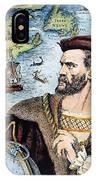 Jacques Cartier (1491-1557) IPhone Case