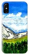 jGibney Breckenridge CO 1999art300dpi18-9M jGibney IPhone Case