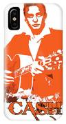Johnny Cash The Legend IPhone Case