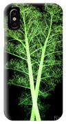 Kale, Brassica Oleracea, X-ray IPhone Case