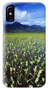 Kauai, Wet Taro Farm IPhone Case