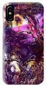 Kittens Cat Cat Puppy Rush  IPhone Case