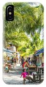 Koh Rong Island Main Village Bars In Cambodia IPhone Case