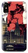 London Cityscape With Big Ben IPhone Case
