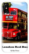 London Red Bus. IPhone Case