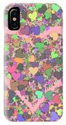Love Heart Valentine Shape IPhone Case
