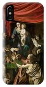 Madonna Of The Rosary IPhone Case