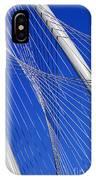 Margaret Hunt Hill Bridge In Dallas - Texas IPhone Case