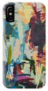 Modern Abstract Cow Painting IPhone Case