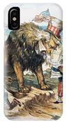 Monroe Doctrine: Cartoon IPhone Case