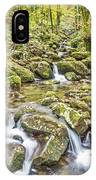 Mountain Stream In Autumn IPhone Case