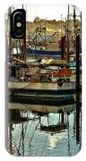 Newport Marina IPhone Case