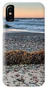 Cayucos State Beach Flotsam Pano IPhone Case