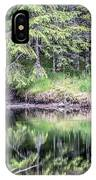 Northern Landscape And Nature In Alaska Panhandle IPhone Case