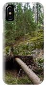 Old Forest In Kauppi Tampere IPhone Case