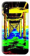 Old Wooden Pier IPhone Case